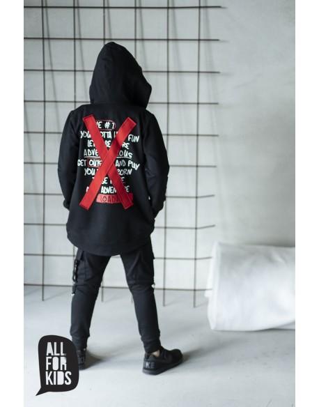 bluza czarna x